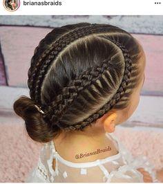 40 Trendy Hair Ideas For Girls Hairdos Girls Hairdos, Cute Hairstyles For Kids, Baby Girl Hairstyles, Kids Braided Hairstyles, Princess Hairstyles, Girls Braids, Trendy Hairstyles, Professional Hairstyles, Curly Hair Styles