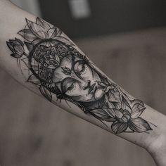 Quarter Sleeve Tattoo Ideas for Men and Women buddha tattoo design by Buddha Tattoo Design, Buddha Tattoos, Quarter Sleeve Tattoos, Best Sleeve Tattoos, Sleeve Tattoos For Women, Bike Tattoos, Leg Tattoos, Tatoos, Buddhas Hand