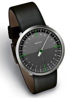 "Botta-Design UNO 24 Neo Single Hand Watch - on aBlogtoWatch.com ""from a modern standpoint, probably one of the most important brands to know about in regard to single-hand watches with contemporary designs is Botta Design, by German Klaus Botta. I believe it was 1986 that he first released his modern collection of single-handed 'Uno' watches. In fact, according to Botta Design, it was Klaus Botta himself who produced the first ever wrist watch with a single-hand..."""