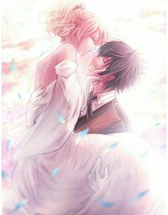 Noctis and Luna Final Fantasy Xv, Final Fantasy Artwork, Fantasy Love, Anime Art Fantasy, Fantasy Series, Anime Love Couple, Cute Anime Couples, Couple Art, Noctis And Luna