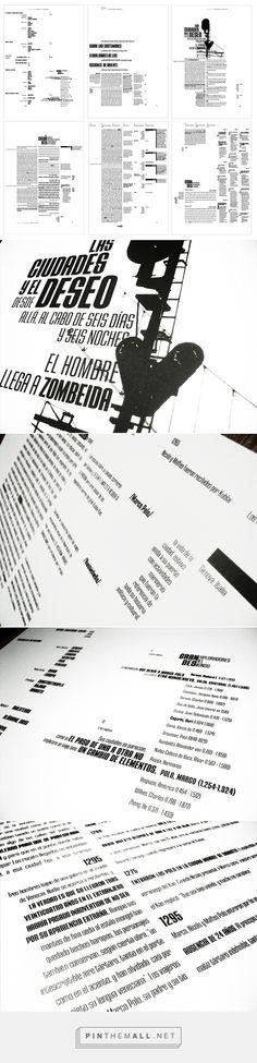 Tipología de Páginas on Behance.. tipografia longinotti 2