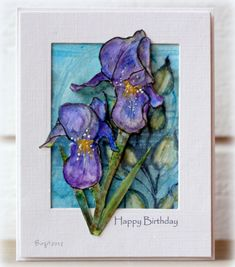 """The challenge on Alota Rubberstamps blog  is a Birthday challenge ! Raven is our hostess and she challenge us to """" Use something thatcelebr..."""