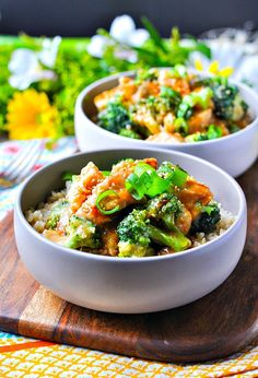 Slow Cooker Orange Chicken and Broccoli | Slow Cooker Recipes | Slow Cooker Chicken | Crock Pot Recipes | Crock Pot Meals | Crock Pot Chicken | Chicken Breast Recipes | Healthy Dinner Recipes | Dinner Ideas | Easy Dinner Recipes | Easy Healthy Dinner