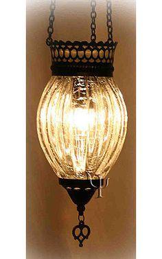Turkish ottoman lamp