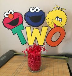 A personal favorite from my Etsy shop https://www.etsy.com/listing/565966153/sesame-street-decorations-birthday-table