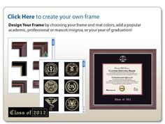 Create your own frame #EarnItFrameIt @diplomframe