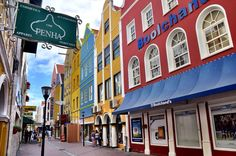 Colorful Shopping District in Willemstad, Curacao Kingdom Of The Netherlands, Willemstad, Urban Sketching, Travel Bugs, Where To Go, Travel Photos, Travel Inspiration, Around The Worlds, Island