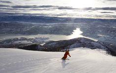 This photo was taken in the Deer Valley Ski Resort.