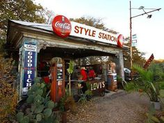 You have to pull off of I-35 for the Style Station in West, Texas.  There is just nothing like it.