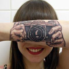 Pentax tattoo