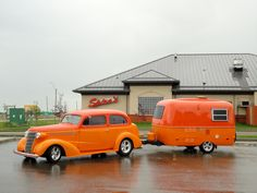 Orange Boler--the 30's meet the 70's