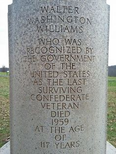 Grave Marker of Last Known Confederate Civil War Veteran Confederate Monuments, Confederate States Of America, Confederate Leaders, Southern Heritage, Southern Men, Southern Pride, American Civil War, American History, Civil War Quotes