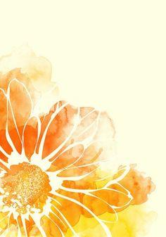 Flor naranja