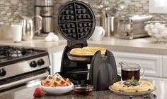 Groupon - Hamilton Beach Belgian Flip Waffle Maker with Removable Grids in [missing {{location}} value]. Groupon deal price: $39.99