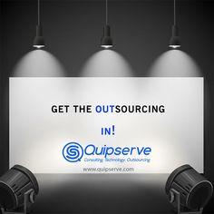 Outsourcing is in!! www.quipserve.com #measure #msure #bigdata #analytics #insights #data #emetrics #trend #reports #segmentation #segment #seo #search #ppcchat #cro #landingpages #webdesign #custexp #mktg #marketing #ecom #ecommerce #ecomchat #ux #smdata