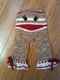 this is definitely the cutest thing I've ever made. Knitting For Kids, Baby Knitting Patterns, Loom Knitting, Crochet Patterns, Sock Monkey Baby, Monkey Monkey, Diy Dream Catcher Tutorial, Crochet Monsters, Crochet Baby Clothes