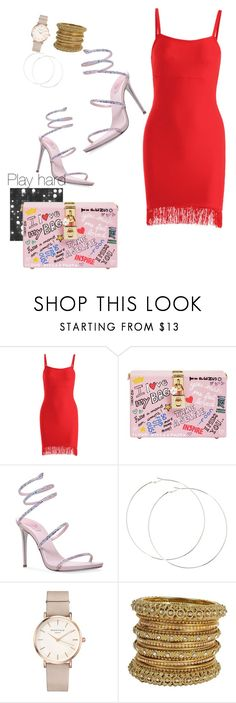 """""""Untitled #46"""" by onlynaturallove on Polyvore featuring Dolce&Gabbana, René Caovilla and ROSEFIELD"""