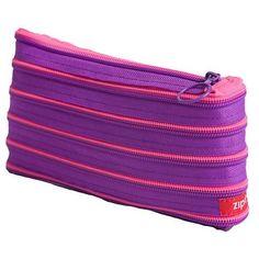 ZipIt Case: 20x12cm - Purple & Pink dropship direct shipping deals at eCHO eTAIL