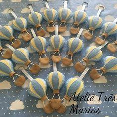 Lembrancinha chaveiro balão em feltro, festa meio de transporte, balões, balao em feltro, maternidade, nascimento, cha de bebe