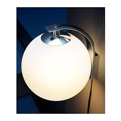 IKEA - MINUT, Wall lamp,  ,  , , Flexible; can be mounted with the light turned downwards or upwards.Gives a soft mood light.
