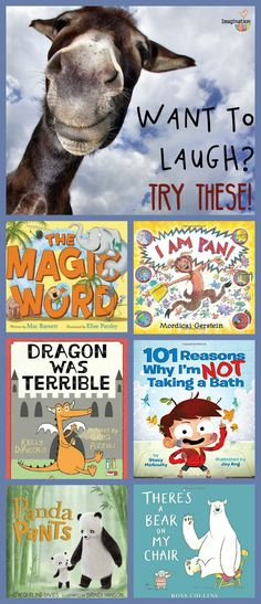 Kids LOVE funny picture books. Well, who doesn't want a book that will make you laugh?! I know these new picture books (2016) will get you giggling and chortlin