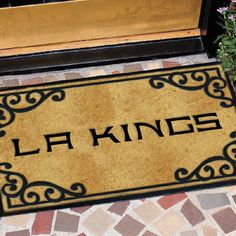 Los Angeles Kings Door Mat