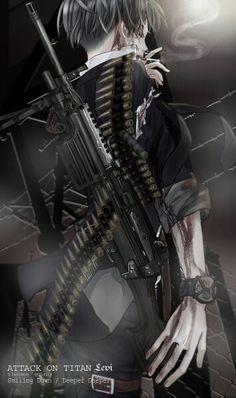 Levi Rivaille Ackerman | Attack on Titan | Shingeki no Kyojin | ♤ Anime ♤