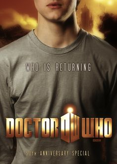 The Geeky Nerfherder: Cool Art: 'Who Is Returning' - 50th Anniversary Fan Posters