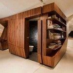 Muebles multifuncionales -estantería y divisor de ambientes