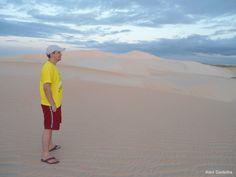Horizonte de areia