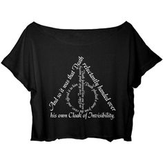 ASA Women's Crop Top Harry Potter Quotes Shirt Chronicles the... (€15) ❤ liked on Polyvore featuring tops, t-shirts, cropped tops, crop shirt, crop t shirt, cut-out crop tops and shirt tops