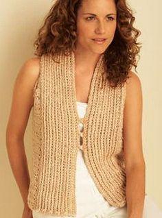 Bamboo Crochet Vest | por Shandeh