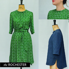 The Rochester sewing pattern by Maven Patterns