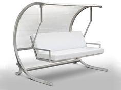 Garden Swing Seat DONDOLÒ by CAGIS | design Mariateresa Casarola