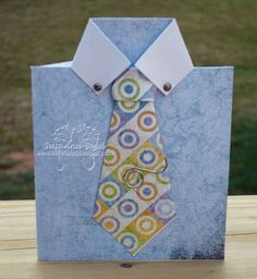 Make Fathers Day Shirt/Gift Card Crafts - Card Idea for Father's Day | Vanilla Joy