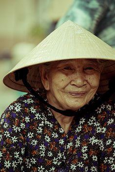 Elder woman. Vietnam