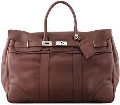 $3,280, Brunello Cucinelli Oiled Leather Country Bag Brown. Sold by Neiman Marcus.