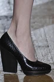 """Definitely taking the """"no wardrobe dare be without it""""  black pump up a notch!"""