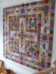 Applique 'n Patch Quilting: Promise of Spring & Lancaster quilt show