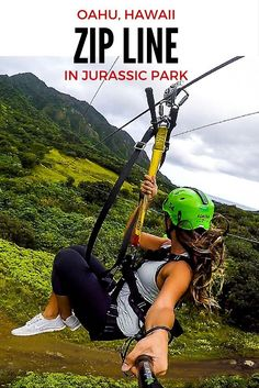 Our adventure to Kualoa Ranch to zipline through the Kaaawa valley, the location where Jurassic Park was filmed. A must do on Oahu, Hawaii. Kauai, Oahu Hawaii, Hawaii 2017, Visit Hawaii, Hawaii Hikes, Hawaii Honeymoon, Hawaii Travel, Travel Usa, Italy Travel