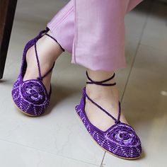 Perfect Purple at www.footsy.in