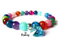 Beaded Bracelets, Stud Earrings, Gemstones, Crystals, Mandala, Reiki, Jewelry, Spirit, House