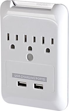 This is brilliant: BestBuy- Plug-N-Power Charging Station with USB Charging Ports. Stocking stuffer