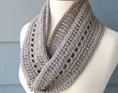 PATTERN S-007 / Crochet Pattern / Phoebe Infinity ... worsted/Aran 165 yards