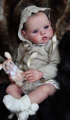 Mika by Diddy Jacobson Reborn Toddler Dolls, Reborn Baby Girl, Reborn Dolls, Reborn Babies, Real Baby Dolls, Realistic Baby Dolls, Baby Girl Dolls, Ooak Dolls, Art Dolls