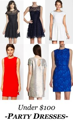 Party/ holiday dresses under $100