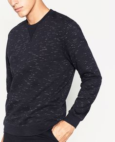 INJECTED SWEATSHIRT-SWEATSHIRTS-MAN | ZARA United Kingdom