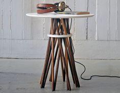 Ampersand: bundle side table