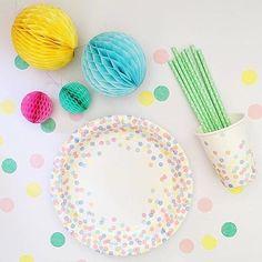 Pastel Confetti Dot...