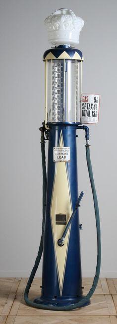 vintage+gasoline+pumps | 439: Vintage gas pump by Wayne Manufacturing